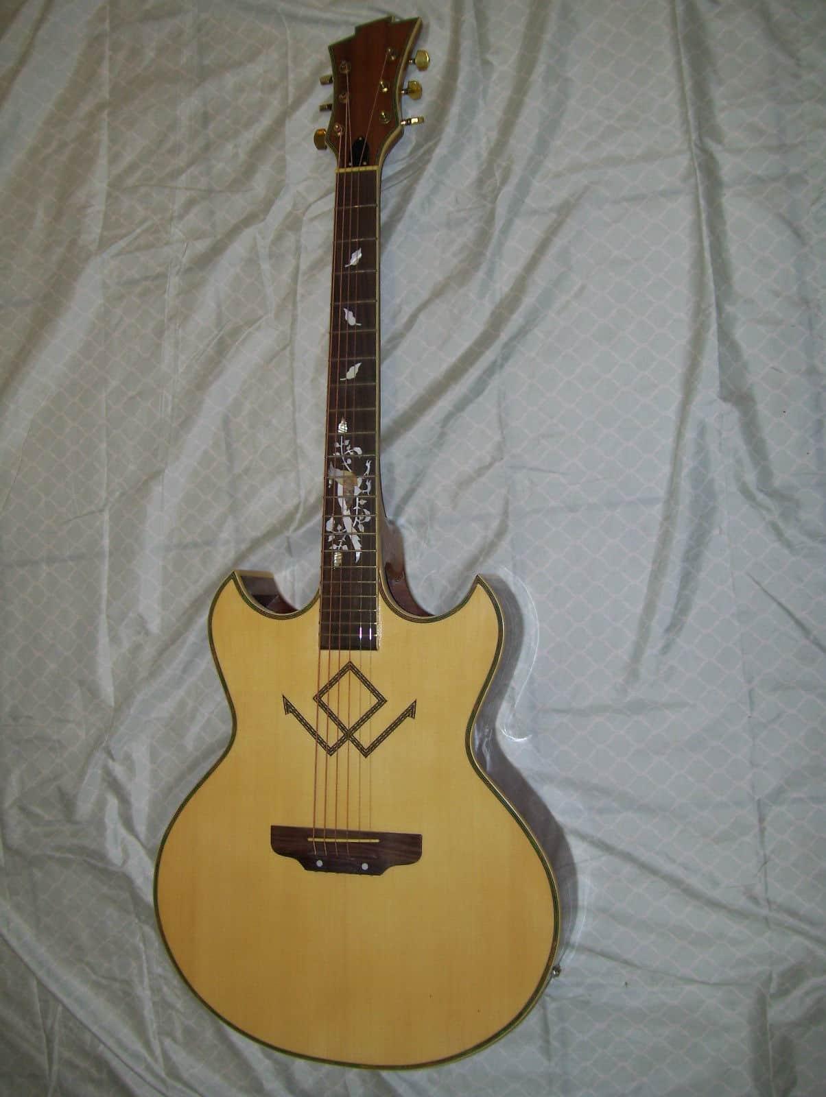 Acoustic guitar unique design reverb for Acoustic guitar decoration