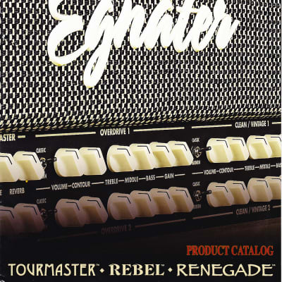 Egnater Product Catalog