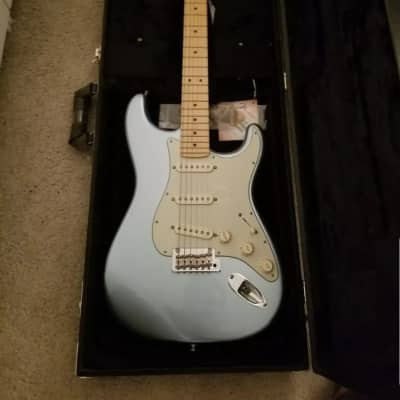 Fender Fender American Deluxe Strat Plus  2017 Mystic ICE BLUE for sale