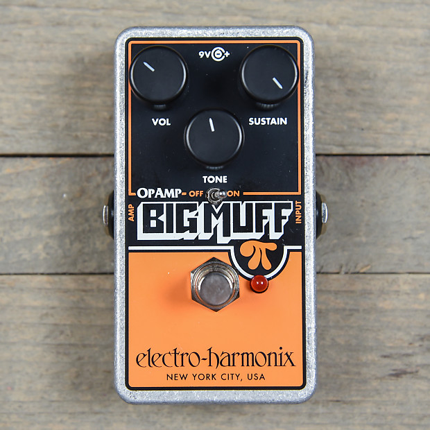 electro harmonix op amp big muff pi reissue used reverb. Black Bedroom Furniture Sets. Home Design Ideas