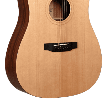 Teton STS10NT Dreadnought Solid Sitka Spruce Top Mahogany Neck 6-String Acoustic Guitar
