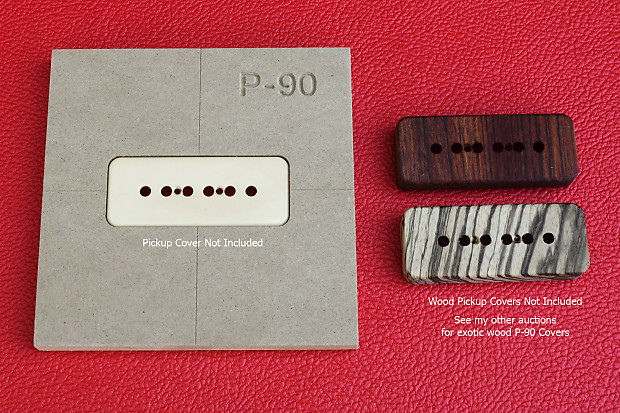 """Humbucker Pickup Router Template PAF CNC 1//2/"""" MDF 0.5/"""""""
