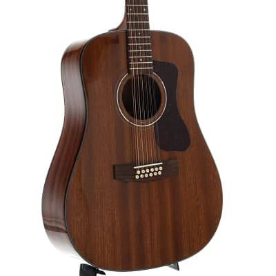 Guild Westerly Collection D-1212E Acoustic 12-String Guitar with Pickup and Case for sale