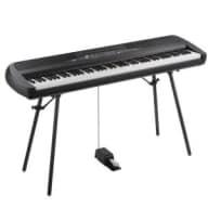 Korg SP-280BK Digital Piano including Stand, Speakers & Pedal -BLACK