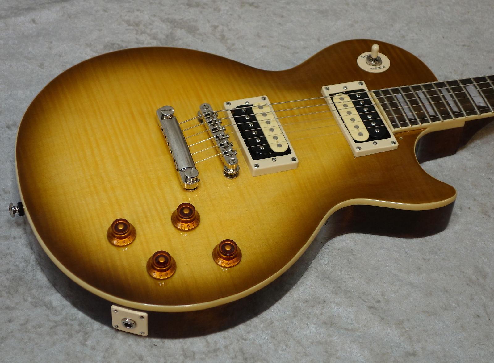 Epiphone Les Paul Standard Electric Guitar In Honey Burst Finish