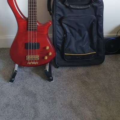 Warwick Fortress Masterman 1997 Red for sale