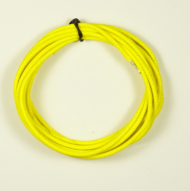 Single-Conductor Cloth-covered Guitar hookup Wire 22 AWG | Reverb