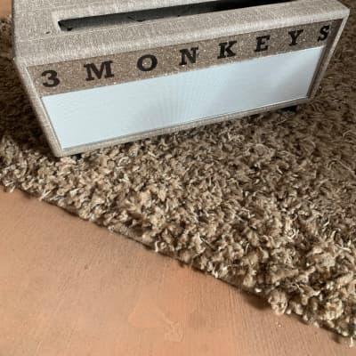 3 Monkeys Sock Monkey Head Shell