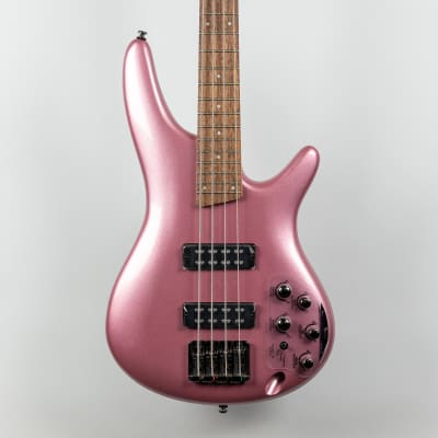 Ibanez SR300E-PGM 4-String Bass in Pink Gold Metallic for sale