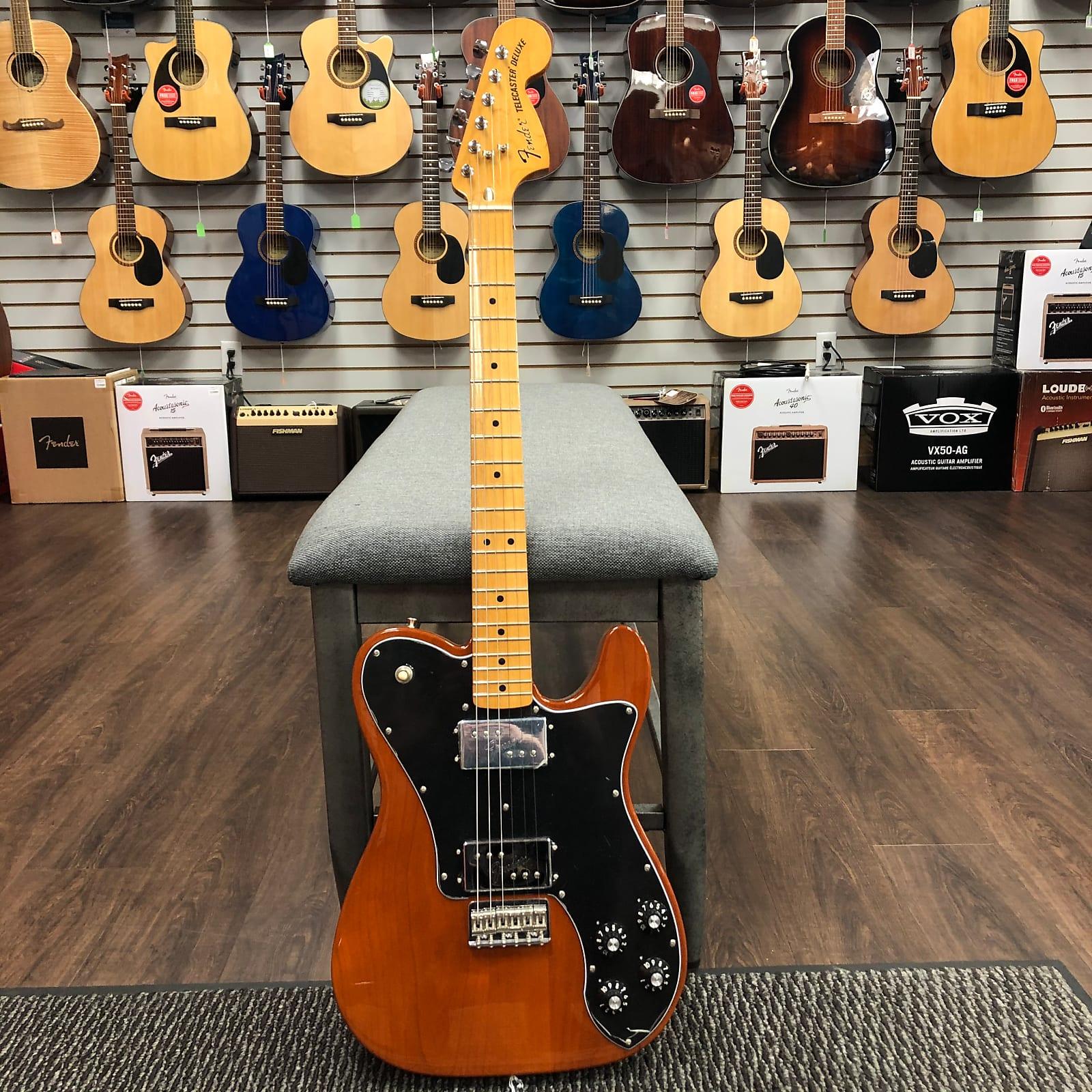 Fender Vintera '70s Telecaster Deluxe - Mocha, Maple Fretboard