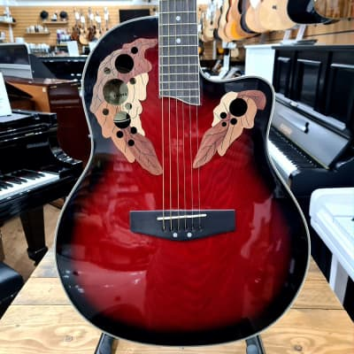 Gear4Music RB230R Electro Acoustic Guitar Red Burst   SP18160   Sherwood Phoenix for sale