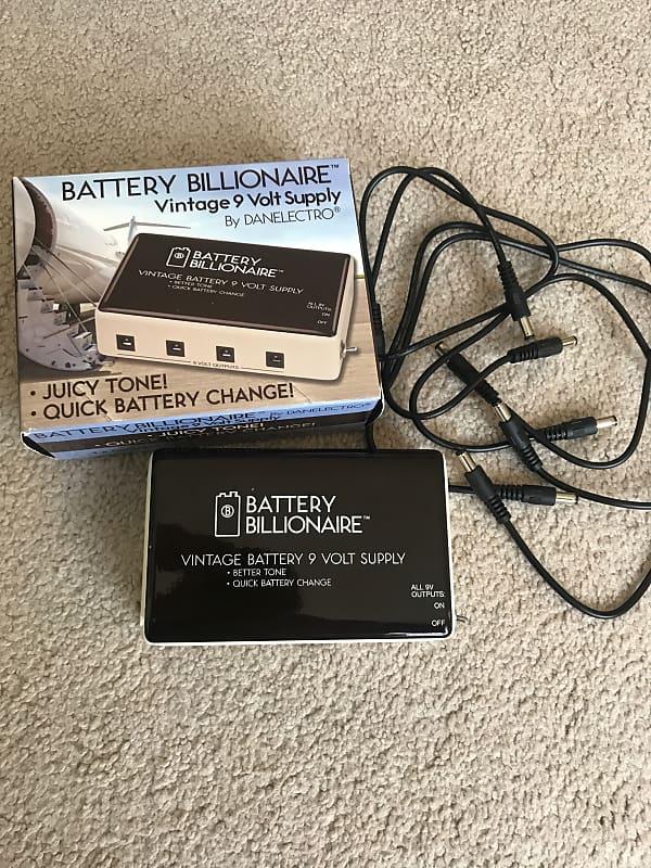 Danelectro Battery Billionaire Vintage Power Supply Reverb