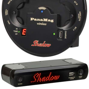 Shadow PanaMag Wireless Acoustic Guitar Pickup System w/ Built In Tuner SH-PMG-W for sale