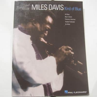Miles Davis Kind of Blue Sheet Music Song Book Songbook Transcribed Scores
