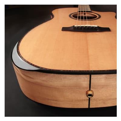 Cort GAMYBEVELNAT Grand Regal Myrtlewood Bevel Cut Mahogany Neck 6-String Acoustic-Electric Guitar