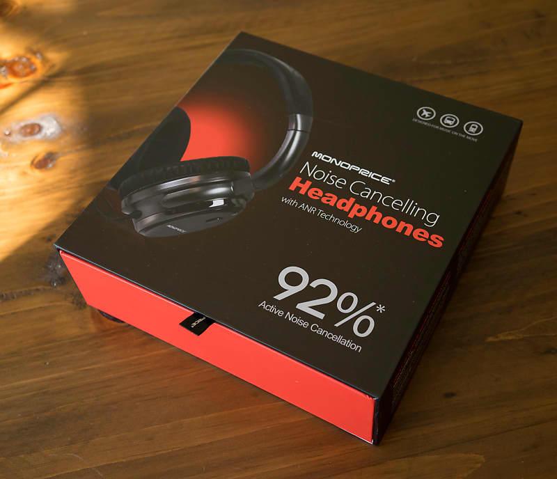 2d39a3014fd Monoprice Noise Cancelling Headphone w/ Active Noise | Reverb