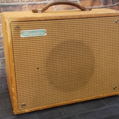 Magnatone Starlet Model 107 Recently Serviced 1950s Blonde for sale