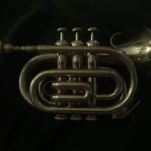 Mendini MPT-L+SD+PB+92D Student Bb Pocket Trumpet Outfit w/ Case, Tuner, Accessories