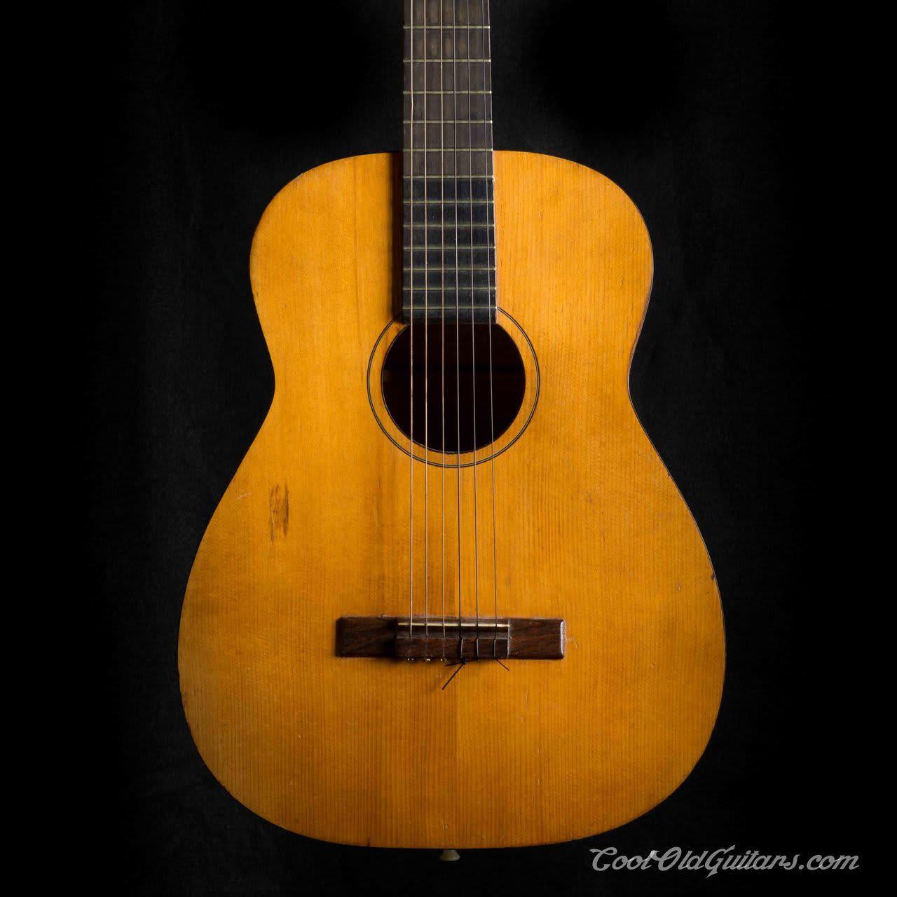 vintage 1960s harmony classical guitar h 173 similar to reverb. Black Bedroom Furniture Sets. Home Design Ideas