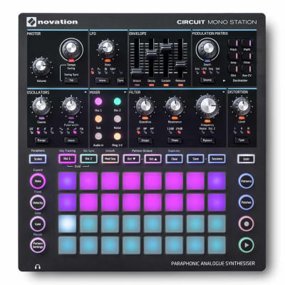 Novation Circuit Mono Station - Paraphonic Analogue Synthesiser