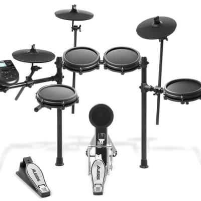 Electronic Drum Kit with PinTech Triggers and Cymbals | Reverb