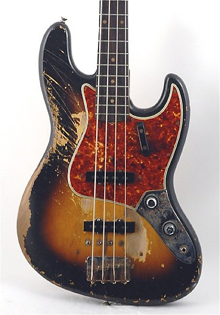 Fender Jazz Bass 1960 Sunburst Price Guide | Reverb