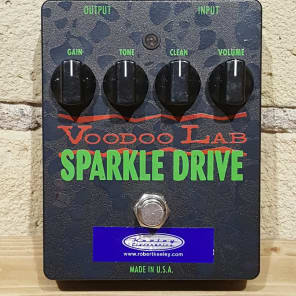 Voodoo Lab Sparkle Drive Overdrive w/ Keeley Mod