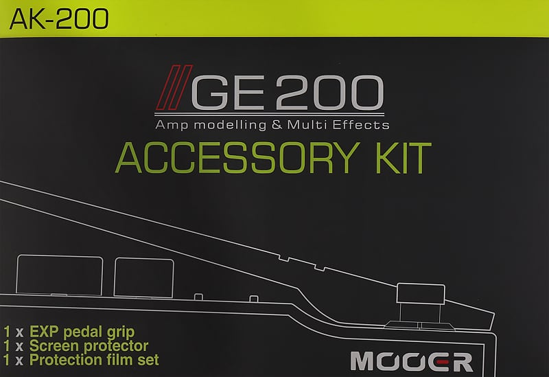 Mooer Accessory Kit For GE200 (Maintenance) image