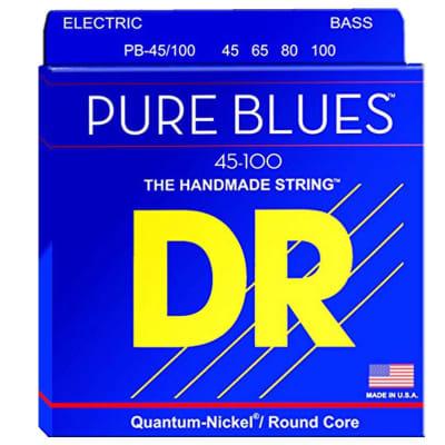 DR Strings PB-45/100 Pure Blues Bass Strings