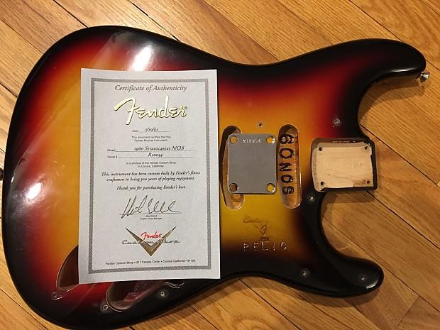Fender Custom Shop 60 NOS Relic Stratocaster Body 2001 Sunburst