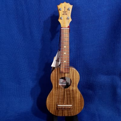 Mims Ukes: KoAloha Opio Soprano All Solid Acacia KSO-10 Light Gloss Ukulele Uke Package w/ Bag .422