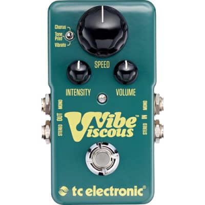 "TC Electronic Awesome Vibe Pedal for Recreating the Legendary ""Shin-Ei Uni-Vibe"" Sound"