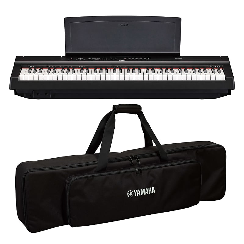 yamaha p121b 73 key weighted action digital piano with reverb. Black Bedroom Furniture Sets. Home Design Ideas