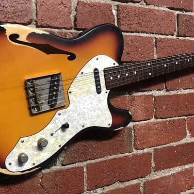 Tonehound Vintage Series Relic 69 Telecaster Thinline  -  2007 for sale