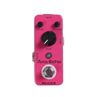 Mooer Ana Echo Analogue Delay Pedal for sale