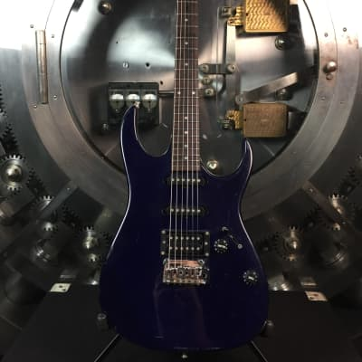 Ibanez EX Electric Guitar Blue for sale