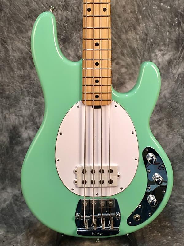 music man stingray bass 2009 seafoam green spacetone music reverb. Black Bedroom Furniture Sets. Home Design Ideas