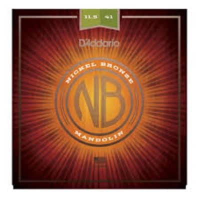 D'Addario NBM11541 Nickel Bronze Mandolin Strings - Medium Heavy (11.5-41)