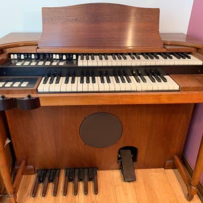 Hammond M3 Organ with Leslie Speaker Model 120 Natural Wood