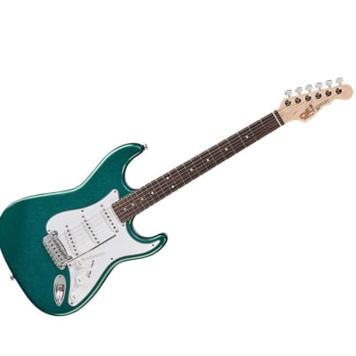 G&L Fullerton Standard Legacy Emerald Blue w/ Rosewood FB - Used for sale