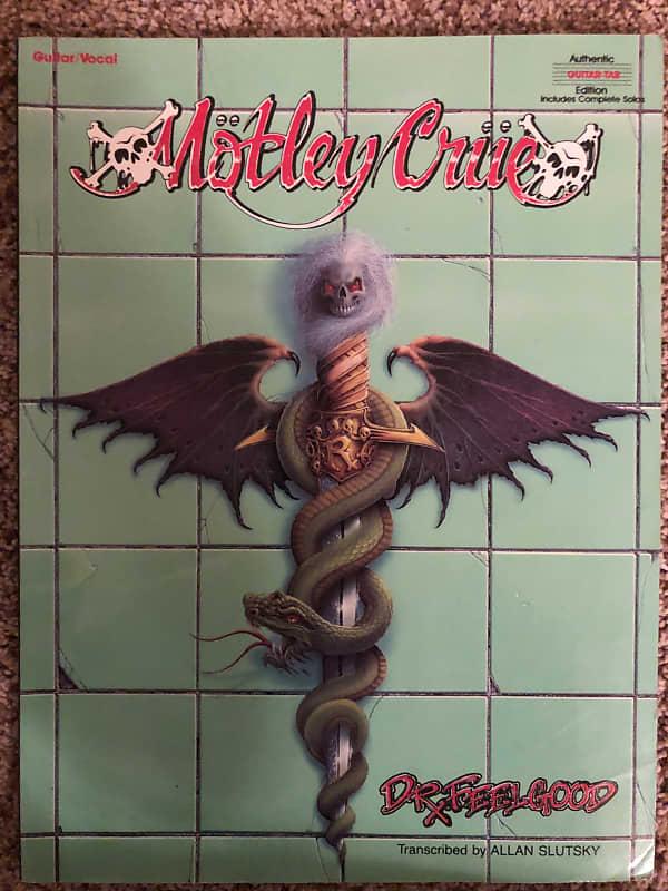 Motley Crue Dr Feelgood Guitar Tab Tablature Book Reverb