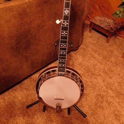 Gold Star Banjo & Case GF-100HF 2006 Mahogany for sale