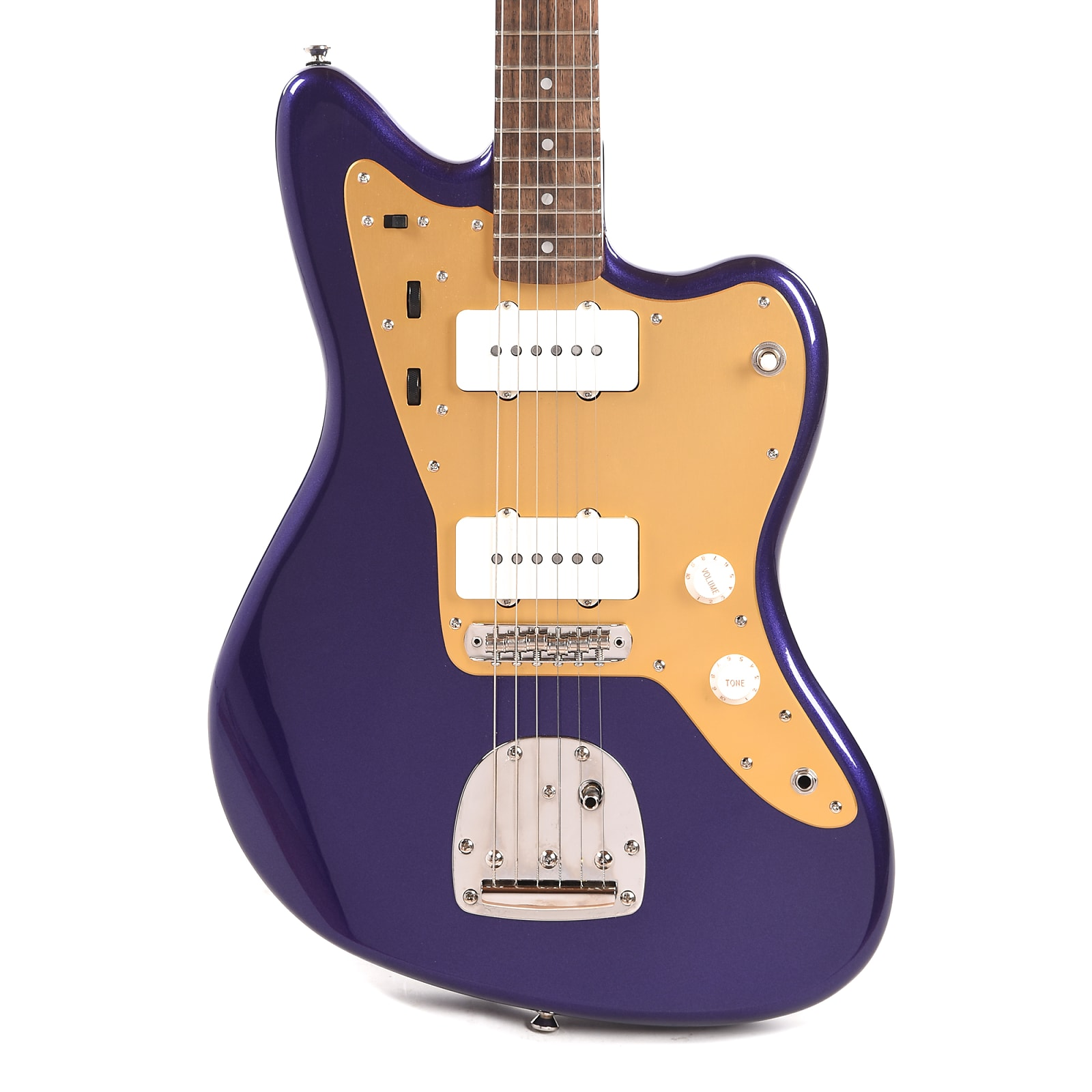 Squier Classic Vibe '60s Jazzmaster Purple Metallic w/Gold Pickguard (CME Exclusive) Pre-Order