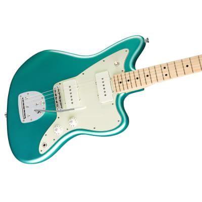 Fender American Professional Jazzmaster Guitar Maple Neck Mystic Seafoam w/Case