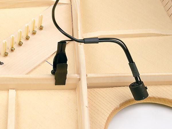 b band ag mic clip on internal condensor guitar microphone reverb. Black Bedroom Furniture Sets. Home Design Ideas