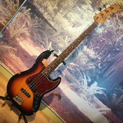 2006 Fender Reggie Hamilton Artist Series Signature Standard Jazz Bass  -- HEAVY wear. Rare! for sale