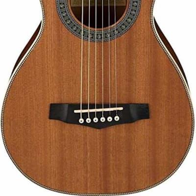 Ibanez PN1MHNT Parlor Guitar Natural Mahogany