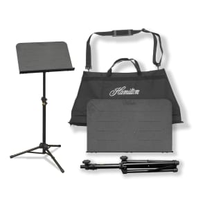 Hamilton KB90 The Traveler II Portable Music Stand w/ Carry Bag