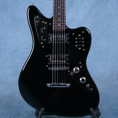 Fender MIJ Jaguar Special HH Black Electric Guitar - Preowned for sale