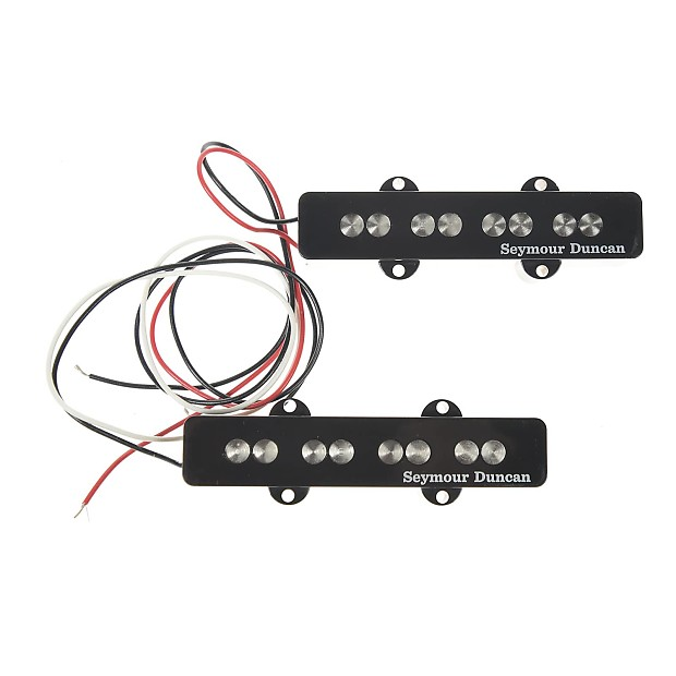 seymour duncan quarter pound jazz bass pickup set reverb. Black Bedroom Furniture Sets. Home Design Ideas